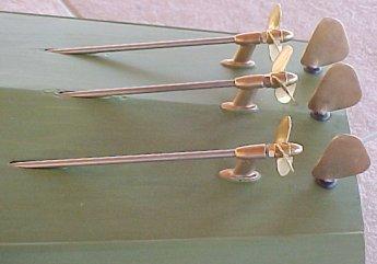 Model Hull 2 Propshaft